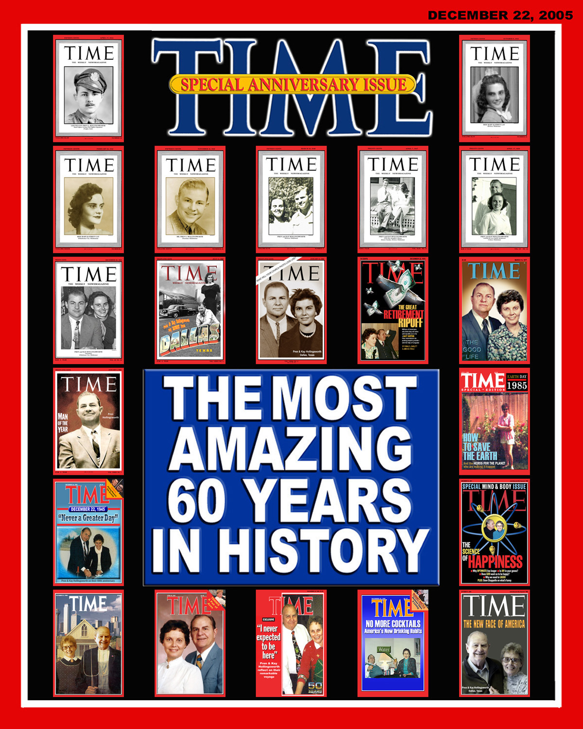 60th Anniversary - Time Magazine Rendition